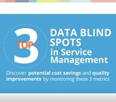 3 Top Data Blind Spots in Service Management